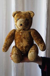 びっくりクマだ、ファニーにアピール-vintage teddy bear