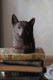 狼の血族 凛としたシェパード-antique pottery bank