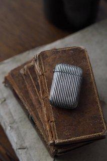マッチケース今昔物語-antique silver plate match case