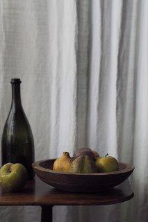 土着民藝 木のボウル-antique wood bowl