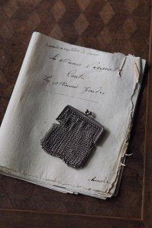 メタルチェーンコイン入れ-antique metal purse