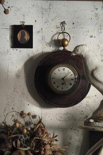 時読み掛け時計-antique french wall clock