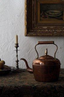 コレクタブル銅のやかん-antique copper kettle