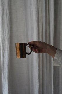 外連なし、コッパーマグ-antique copper mug