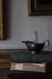 誠アラジン 目配せランプ-antique gravy boat lamp