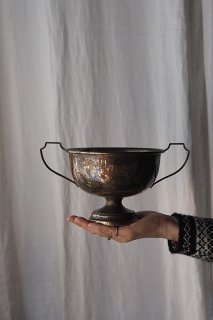 トロフィー杯-antique metal trophy