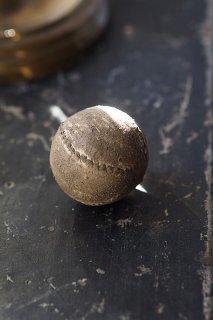 遊び物 革のボール-antique leather ball
