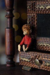 Schuco社お猿さん いらっしゃいませ-vintage Schuco monkey