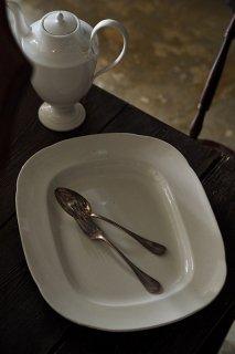 大いに ミートプラッター-antique ceramic main plate
