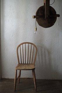 素地の椅子 ボウバック-antique elm Windsor chair