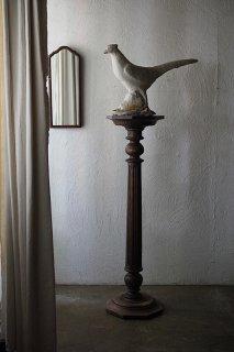 八角形のコラム-antique wood column