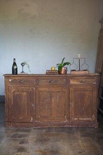薄い、壁に沿うカウンター-antique thin counter