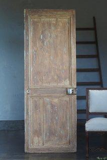 ドア 粗野な味わい-antique pine door