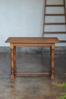 オークのフレンチテーブル-vintage oak french table