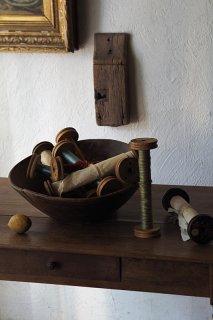 滑らかに光沢 シルクのボビンセット-antique 10 pieces bobbin set