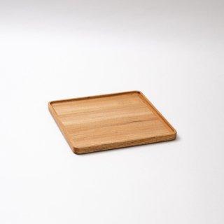 トレイ蓋 正方形(クルミ)