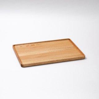 トレイ蓋 長方形(クルミ)