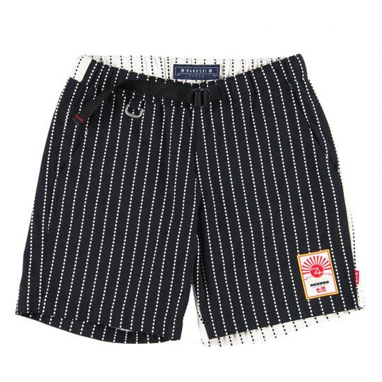 ナナシ Wasshoi Shorts BLACK