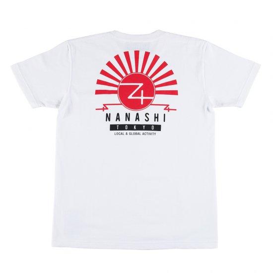 ナナシ Pocket T-shit WHITE