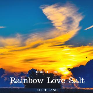 【雑貨】Rainbow Love Salt  (100g)