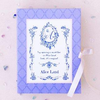 【雑貨】Alice Land  original reading box〜あなたからのメッセージブック(前編)〜