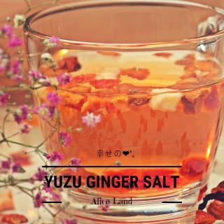 【食品】*数量限定*幸せのYUZU GINGER salt (145g)