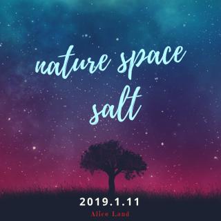【雑貨】nature space salt 〜2019.1.11〜Alice Land(230g)