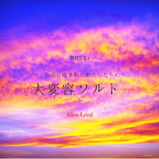 【雑貨】〜この道に産まれたわたしたちの〜大変容ソルト(230g)