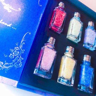 【雑貨】Jewelry stone salt  box (紫)