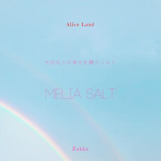 【雑貨】MELIA SALT〜大切な人の幸せを願うソルト〜 (111g)