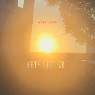 【雑貨】Happy shift salt(130g)