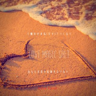 【雑貨】魔女が本気(ガチ)でつくる*love magic salt〜あなたの恋を応援するソルト〜(111g)