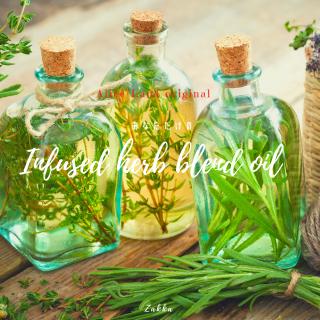 【雑貨】魔女が本気でつくる*あなただけのinfused herb blend oil (30ml)