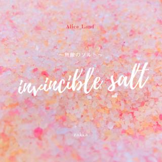【雑貨】invincible salt 〜無敵のソルト〜 (230g)