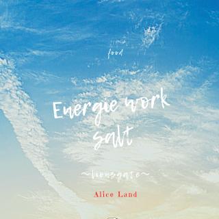 【食品】8/8限定販売*ライオンズゲート編:Energie work salt (100g)