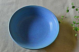 グラタン皿ブルー