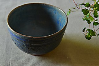 茶碗 ブルー