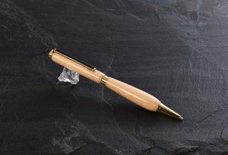 盆栽の里産 天然木松ボールペン(オーバル/ビューティー)