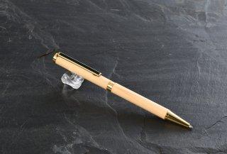 盆栽の里産 天然木松ボールペン(ストレート/ビューティー)
