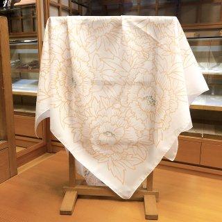 牡丹柄スカーフ