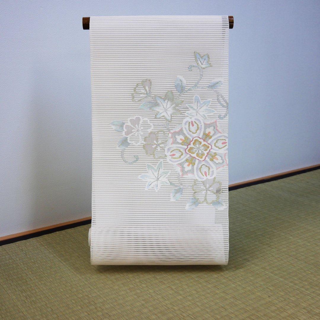 華紋-手織り櫛織