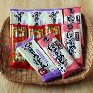 【自宅用】ささっとうどん4袋 神埼にゅうめん3袋 即席ラーメン3袋 10袋入