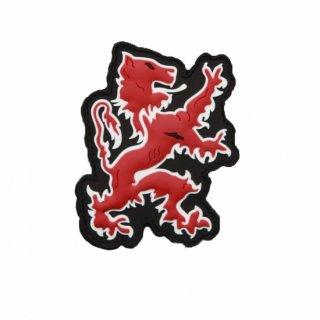 LBT_Lion Logo PVC Patch (Red)