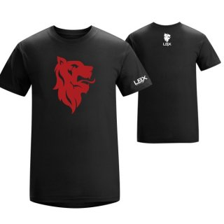 LBX Logo Tee (Black / Red)