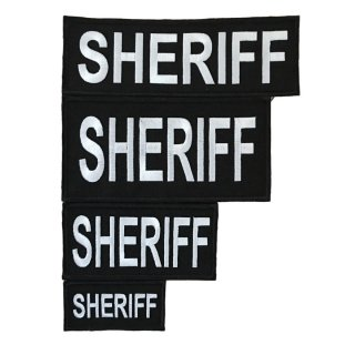 LBT_Embroidered Law Enforcement Patch(SHERIFF)