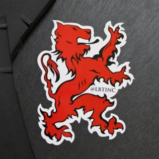 LBT_ライオン ロゴ ステッカー (1枚入)