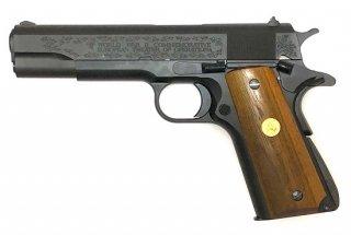 TANIKOBAコラボ M1911A1 ミリタリーブラック WW2ヨーロッパ記念モデル