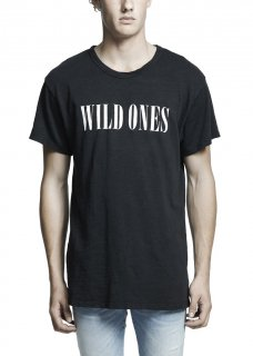 AMIRI/アミリ WILD ONES VINTAGE TEE BLACK /ワイルド ワンス ヴィンテージ ティー ブラック コットン Tシャツ/メンズ/A0055