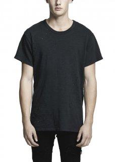 AMIRI/アミリ SHOTGUN VINTAGE TEE BLACK /ショットガン ヴィンテージ ティー ブラック コットン Tシャツ/メンズ/A0062