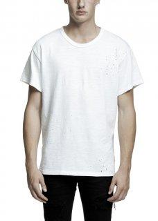 AMIRI/アミリ SHOTGUN VINTAGE TEE WHITE /ショットガン ヴィンテージ ティー ホワイト コットン Tシャツ/メンズ/A0063